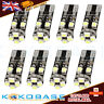 4x Error Free T10 W5W 501 LED Bulbs 8 SMD Indicator Interior Number Plate Light