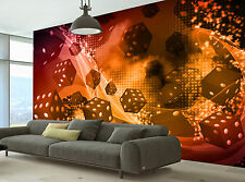 Photo Wallpaper Dice and Casino GIANT WALL DECOR PAPER POSTER FOR BEDROOM