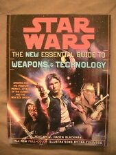 Lot of Two Star Wars New Essential Guides books: Droids & Weapons! Like New!