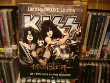 Kiss - Monster Zine Pack LIMITED EDITION SEALED  CD + Exclusive 64 Page Magazine