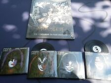 Kiss Monster CD & 64 page Booklet Sealed & 4 mini solos records