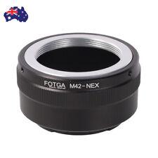 AU FOTGA M42 Lens to Sony E Mount Camera Adapter for A7 Nex-3n Nex-5c 6 Vg10