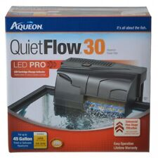 LM Aqueon LED Pro Power Filter QuietFlow 30 (Aquariums up to 30 Gallons)
