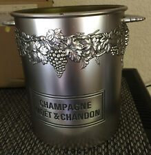 Vintage Moet Chandon Champagne Bucket Cooler 1960s Great Condition NEW OLD STOCK