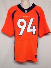 Nike Authentic Denver Broncos #94 DeMarcus WARE Home Orange Jersey Size M NEW