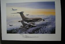 3 AVIATION LIMITED EDITION PRINTS TONADO'S  ARTIST SIGNED MICHAEL RONDOT
