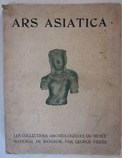 1928 ARS ASIATICA XII archeology Bangkok museum Coedès Van Oest Asian art Thai