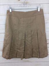 Womens Banana Republic Pleated Skirt Size 6 (D3)