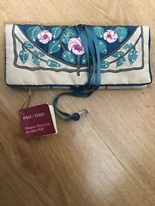 Past Times Glasgow Tree Of Life Jewellery Roll Travel Pouch - New With Tags
