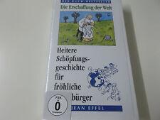 39185 - DIE ERSCHAFFUNG DER WELT (HEITERE SCHÖPFUNGSGESCHICHTE) VHS VIDEO - NEU!