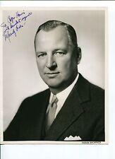 Mundy Peale Republic Aviation President Thunderjet Signed Autograph Photo