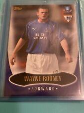 WAYNE ROONEY Rookie 2003 Topps Premier Gold RC Everton