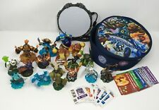 Skylanders Lot Of 17 - No Duplicates with Case, Cards and Portal