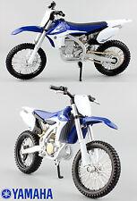 YAMAHA YZF 450 - 1:12 DIE-CAST MOTOCROSS MX moto giocattolo modellino moto maisto