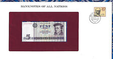 Banknotes of All Nations GDR East Germany 1975 5 Mark UNC P 27a IH017468