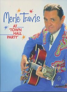 Merle Travis - Merle Travis - At Town Hall Party (DVD) (0) - Bear Family DVD