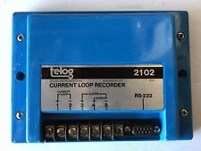 TELOG INSTRUMENTS INC. 2102-42 CURRENT LOOP RECORDER w/ RS-232 SERIAL INTERFACE