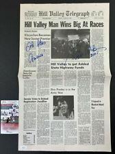 Tom Wilson Signed Back to the Future Prop Newspaper Auto, Biff Tannen, Jsa Coa