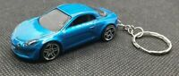 Hot wheels alpine A110 keyring diecast car