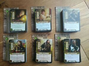 All 6 Shadows of Mirkwood adventure packs for Lord of the Rings LCG card game