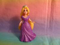 Disney MagiClip Princess Rapunzel Doll Purple Glitter Dress