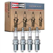 New 4pc Champion Copper Spark Plugs for 2000-2005 Toyota Celica 1.8L L4