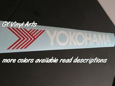 Yokohama Tires Banner Windshield sticker Decal window