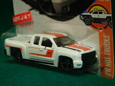 2017 Hot Wheels ~ HW HOT TRUCKS #10/10 ~ Chevy Silverado