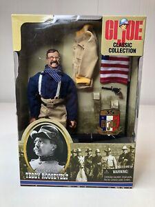 G.I. Joe Classic Collection Theodore Teddy Roosevelt Figure HASBRO 1999 New