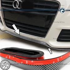 SPOILER Adesivo PER Audi A1-A2 Lama SOTTO PARAURTI / MINIGONNE FIBRA CARBONIO