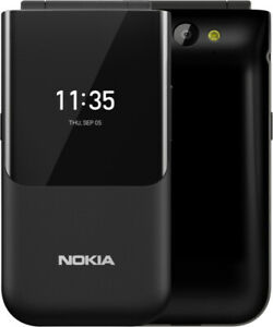 "Telefono Cellulare Nokia 2720 Flip Nero Dual Sim Display 2.8"" Bluetooth Nokia..."