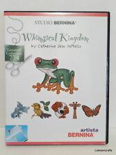 Studio Bernina Embroidery Design Card Collection 774 Whimsical Kingdom - Used