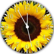 Sun Flower Frameless Borderless Wall Clock Nice For Gifts or Decor X26