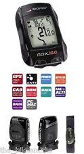 Sigma ROX 10.0 GPS SET HRM Heart Rate ANT+ Speed Cadence Data Bike Computer Kit