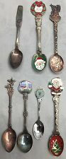 7/ Miscellaneous Collector Spoons (No Sterling)