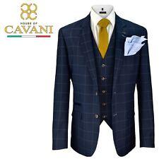 Blazer Para Hombre Cavani Macy Boda Chaleco Pantalones 3 piezas traje se vende por separado