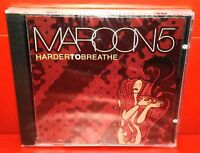 CD MAROON 5 - HARDER TO BREATHE - 3 TRACKS + Video - NUOVO - NEW - SINGLE