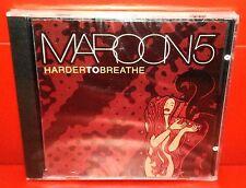 CD MAROON 5 - HARDER TO BREATHE - 3 TRACKS + Video - NUOVO - NEW - SINGLE