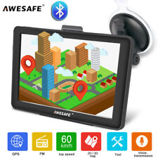 "Awesafe 7"" GPS Navigation for  Car Lorry SAT NAV with Bluetooth Europe Ma"