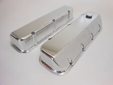 BIG BLOCK CHEVY VALVE COVERS POLISHED CAST ALUMINUM MADE IN USA
