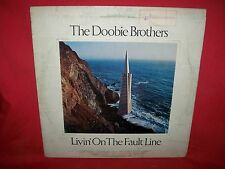 DOOBIE BROTHERS Livin on the fault line LP 1977 ITALY EX+ First Pressing