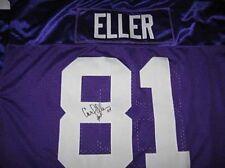Vikings Carl Eller signed Jersey W/COA