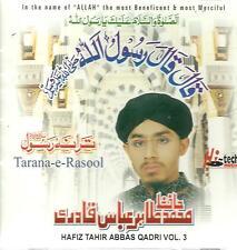 HAFIZ TAHIR ABBAS QADRI - TARANA - E - RASOOL - VOL 3 - NEW NAAT CD