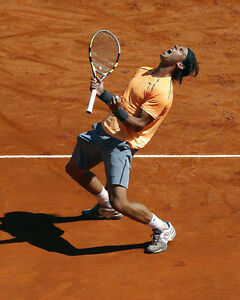 Pro Tennis Player RAFAEL NADAL Glossy 8x10 Photo Poster Print 'King of Clay'