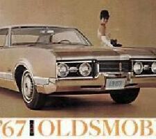 1967  Oldsmobile Full Line, Includes Cutless & 442 Original  Sales  Catalog