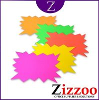 120 FLASH SALE STARS IN NEON COLOURS WITH FREE DELIVERY