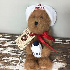 """Boyds Bear #1 Nurse """"Bearly Asprin� Carin Teddy Bear with tag"""