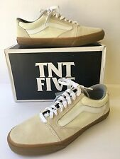 Vans TNT 5 Mens Size 13M White Gum Ultracush Low Top Skateboard VN-OL2Z9DH
