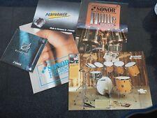 SONOR Kataloge-Flyer (Sonor Vintage- Musikinstumentenkataloge)