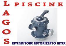 Ricambio INTEX  Valvola a 6 Vie Pompa a Sabbia 28648 / 28652  cod.11496